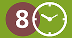 Banco del Tiempo del Distrito 8 de Bilbao - 8. Barrutiaren denbora-bankua logo