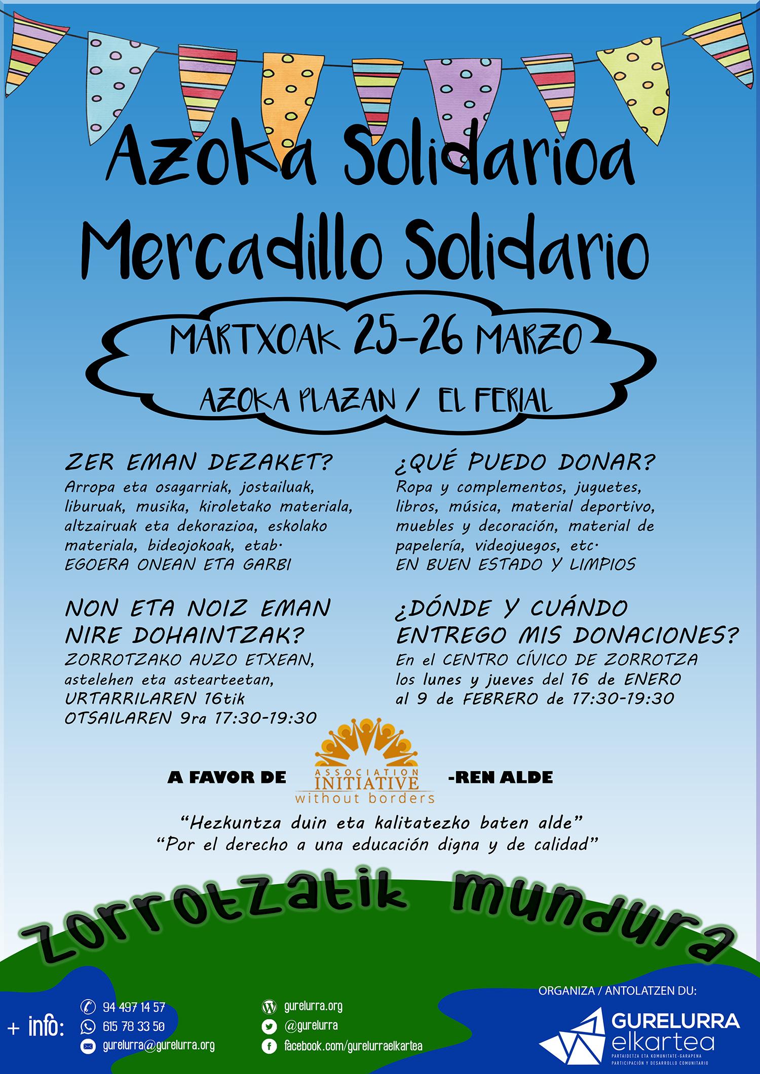 Jóvenes de Zorrotza colaborarán en la mejora de una escuela en Midelt durante este verano