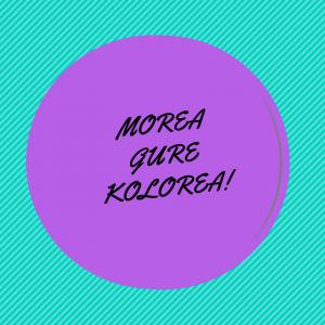 ¡Morea gure kolorea! El CTL realizará una actividad especial en el parque junto a Margotu y Zorroztuz el 25N