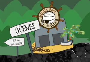 GURE PIRATAK! En busca del tesoro a Bizkaia Park Abentura!