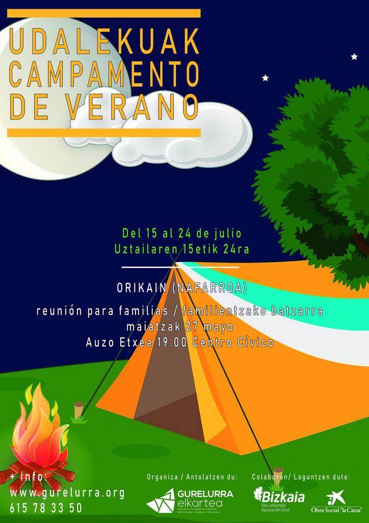Campamento de verano 2019 (Camping Ezcaba-Orikain)