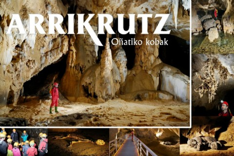 Decimos adiós al curso con una salida familiar a las cuevas de Oñati y al embalse de Ullibarri