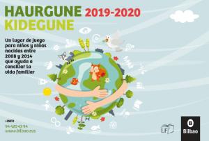 Solicitud de plaza para el nuevo curso de Haurgune/Kidegune de Zorrotza