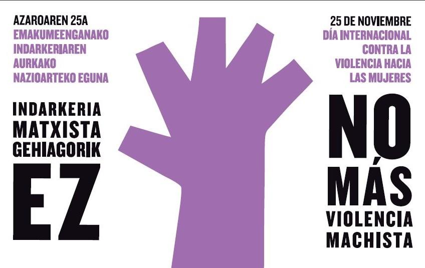 Morea gure kolorea! Gure Lurra y Margotu unidos para celebrar el 25N