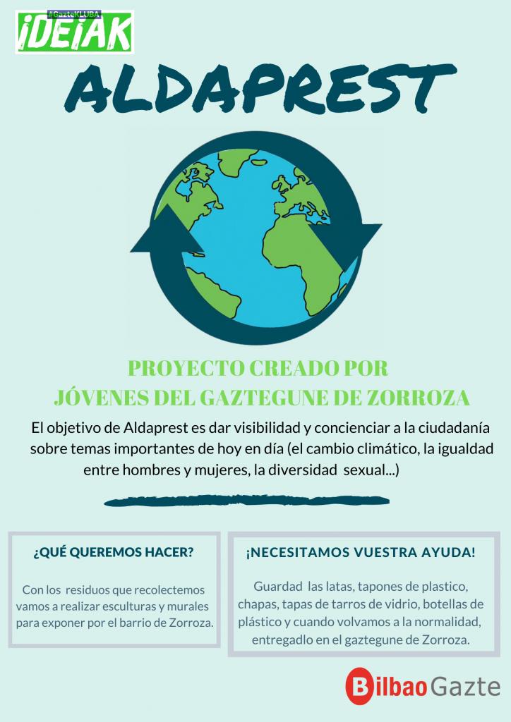 Proyecto ALDAPREST (Gaztekluba ideiak)