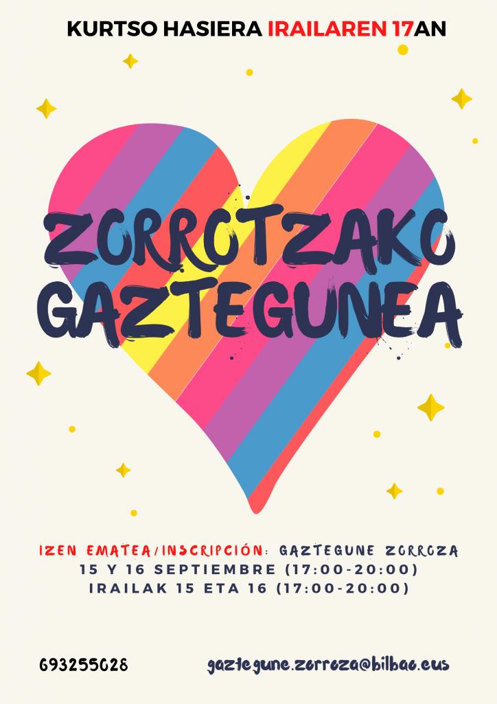 Zorrotzako Gaztegunea 2021/2022